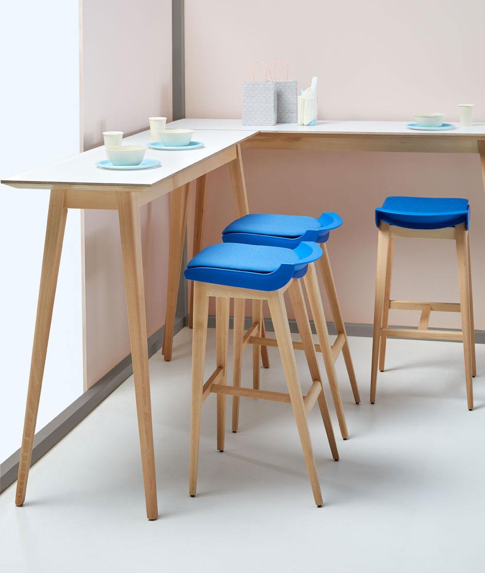 Mesa alta rectangular - Federico Giner | Fabricante de mobiliario ...