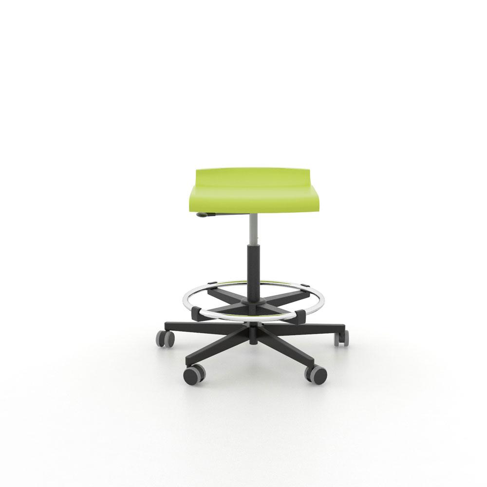 Taburete asiento postura con reposapi s federico giner fabricante de mobiliario escolar - Asientos para taburetes ...
