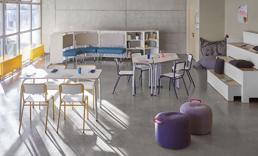 Federico Giner Aulas del Futuro | Mobiliario Escolar
